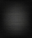 Black speaker grill, metal background. Abstract texture Royalty Free Illustration