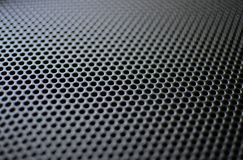 Black Speaker Grille Royalty Free Stock Photo