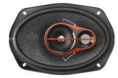 Black speaker isolated on a white background Royalty Free Stock Image
