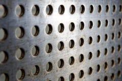 Black speaker lattice background Stock Photography