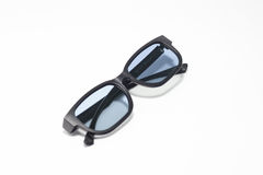 Black spectacles Stock Images