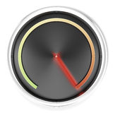 Black Speedometer Royalty Free Stock Image