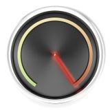 Black Speedometer Royalty Free Stock Image