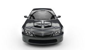 Black Speedster Royalty Free Stock Photo