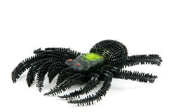 Black spider toy Royalty Free Stock Image