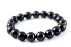 Black spinel bracelet Royalty Free Stock Photography