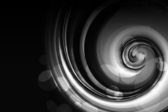 Black Spiral Royalty Free Stock Photography