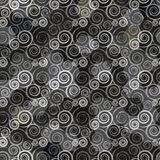 Black spiral pattern Royalty Free Stock Photography