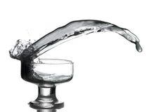 Black Splash  Royalty Free Stock Image