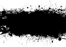 Black splat band Stock Images