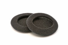 Black sponges Stock Images