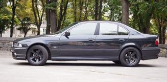 Black sport car Stock Images