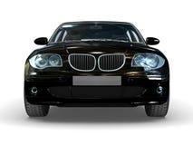 Black sport car Royalty Free Stock Image