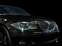 Black sport car Royalty Free Stock Photo
