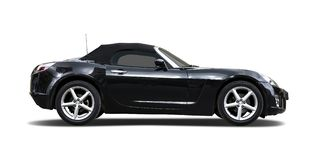 Black sport car Stock Photography