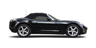 Black sport car Stock Photography