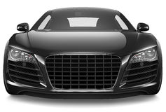 Black sport car Royalty Free Stock Photography