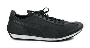 Black sport shoe Royalty Free Stock Photo