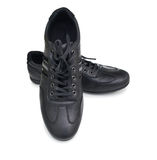 Black sport shoes Royalty Free Stock Photography