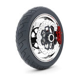 Black sport wheels Royalty Free Stock Images