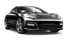 Black sports car Stock Photography