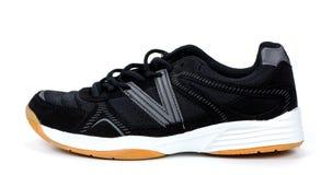 Black sports sneaker  on a white background Stock Photo