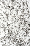 Black spots on the white paper as a texture. Black splatter on the white paper as a texture Royalty Free Stock Photos