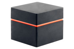 Black square box Stock Photo