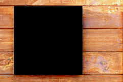 Black square. Royalty Free Stock Images