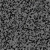 Black square pixel mosaic background Stock Images