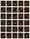 Black squares.ai vector illustration