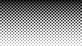 Black Squares Pattern on White Background. stock video