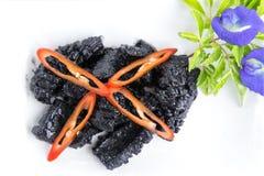 Black squid Thai Food Royalty Free Stock Image