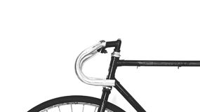 Black and Stainless Steel Mountain Bike Stock Image