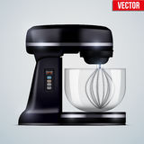 Black Stand Mixer Royalty Free Stock Images
