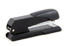 Black stapler. Isolated on white background Royalty Free Stock Photo