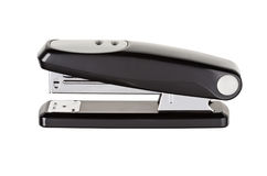 Black stapler isolated Royalty Free Stock Photos