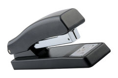 Black Stapler Isolated White Background Royalty Free Stock Photography