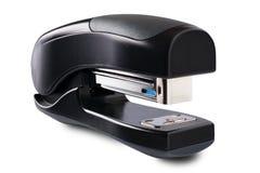 Black stapler on a white background Royalty Free Stock Photo