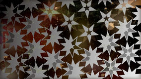 Black Star Pattern Royalty Free Stock Images