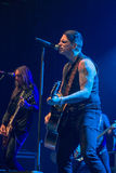 Black Star Riders in Prague, 2015 Royalty Free Stock Photography