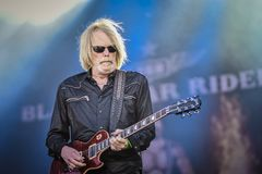 Black Star Riders, Scott Gorham  live in concert 2017 Stock Photo