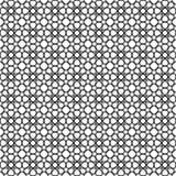 Black star shape pattern background Stock Image