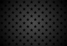 Black stars abstract vector background Stock Images