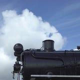 Black steam locomotive Stock Photos