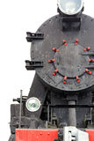 Black steam locomotive Stock Photo