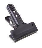 Black steel clip Stock Image