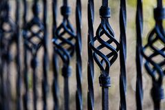 Black Steel Fence during Daytime Stock Photos