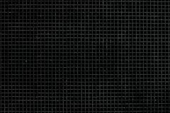 Black steel square shape background. Royalty Free Stock Photos