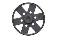 Black steel wheel Royalty Free Stock Photography